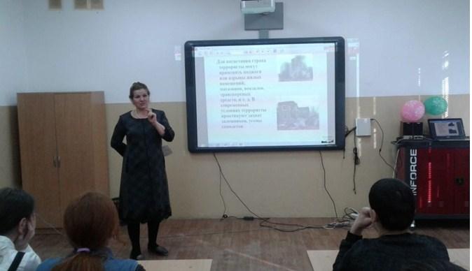 В Стальской гимназии провели цикл плановых мероприятий на антитеррористическую тематику