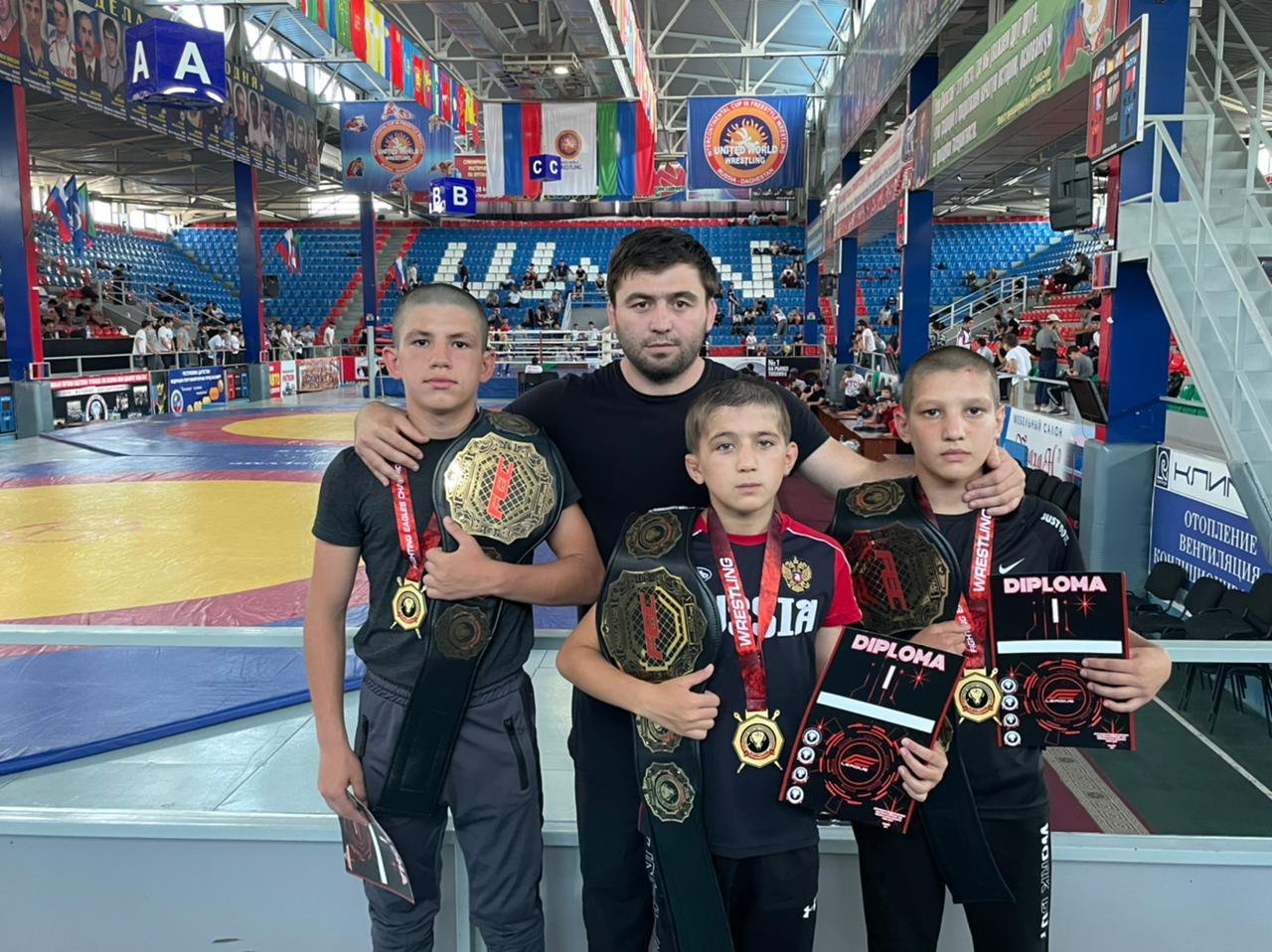 Спортсмены из Кизилюртовского района стали обладателями наград региональной организации