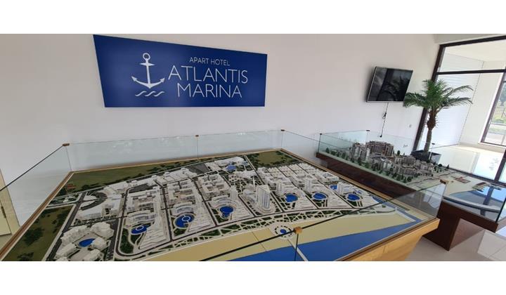 Курортно-гостиничный комплекс «Atlantis Marina» стоимостью 3 млрд рублей строится в Дагестане
