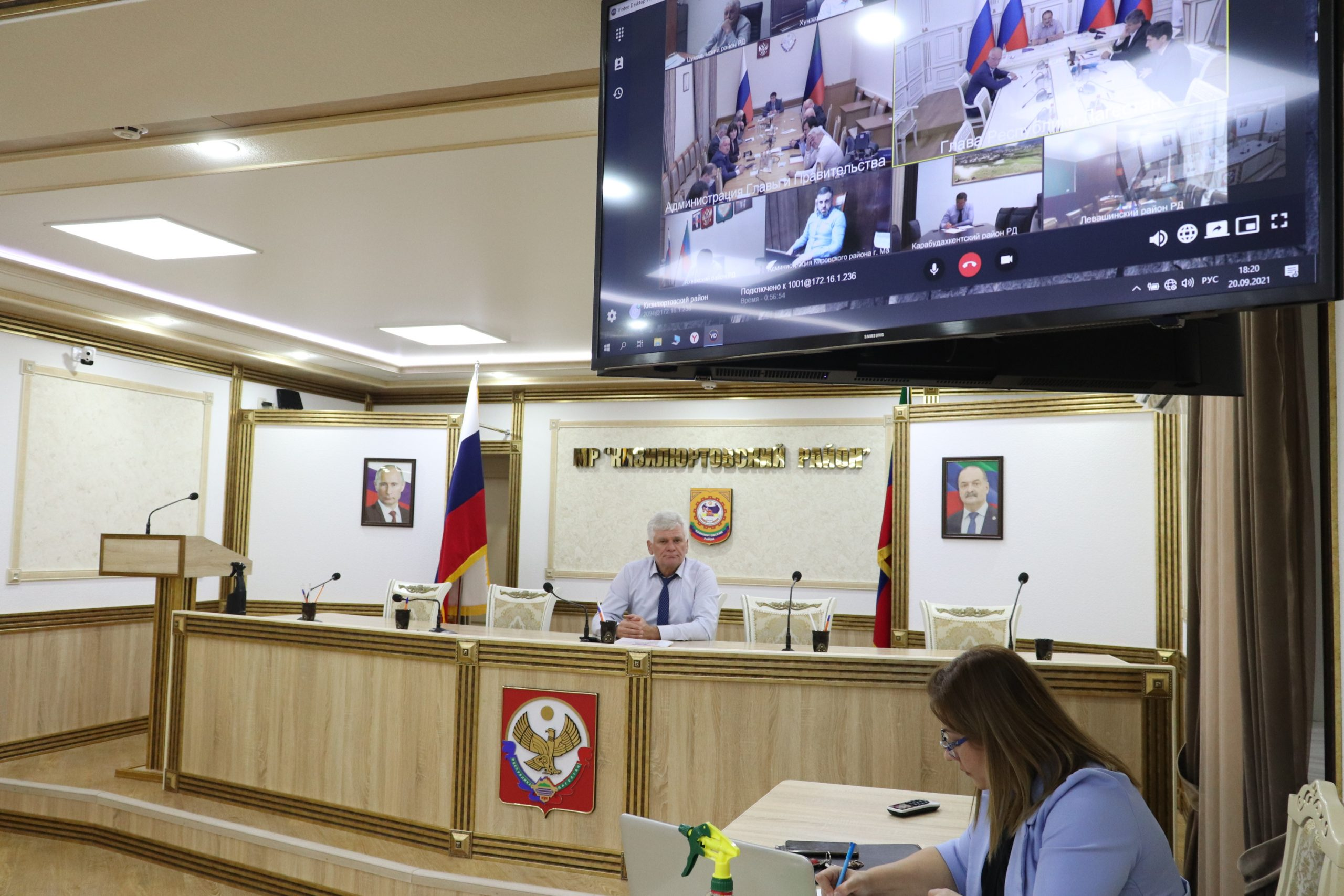 Сергей Меликов подвел итоги голосования выборов в Дагестане
